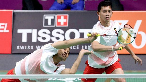 Fajar Alfian/Muhammad Rian Ardianto gagal memperoleh tiket semifinal Jepang Terbuka 2018.