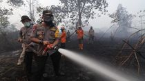 Kapolda Kalbar: Jika Ada Orang Bakar Lahan Laporkan