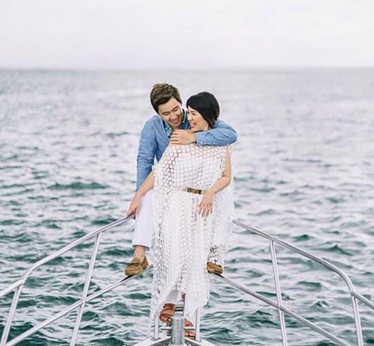 Pemain bulutangkis ganda putra pasangan Kevin Sanjaya, Marcus Fernaldi Gideon menikah dengan Agnes Amelinda Mulyadi di bulan April lalu. (Foto: Instagram/ @marcusfernaldig)