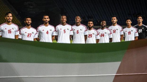 Timnas Uni Emirat Arab punya keunggulan postur tubuh.