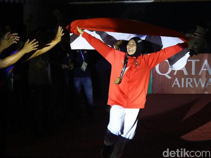 Aries Susanti. Foto: Rachman Haryanto