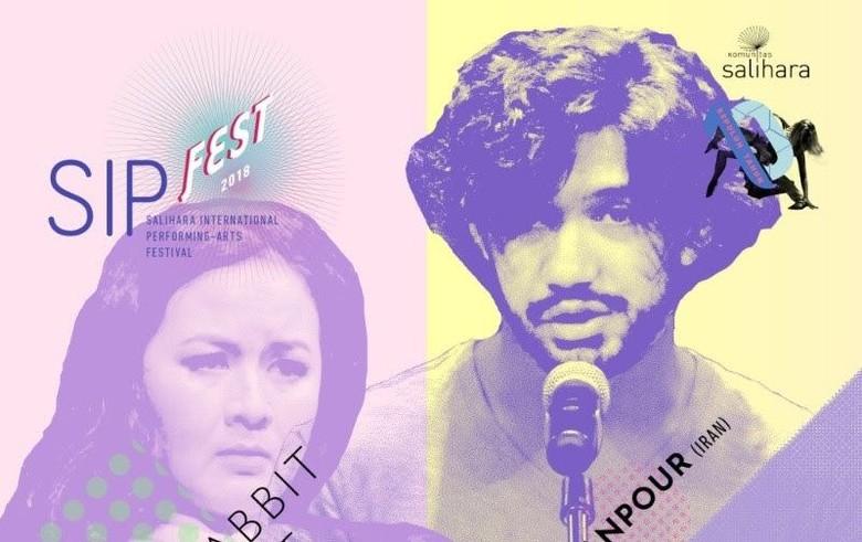 Reza Rahadian dan Sita Nursanti akan Pentas Tanpa Latihan di SIPFest Foto: Dok.Komunitas Salihara