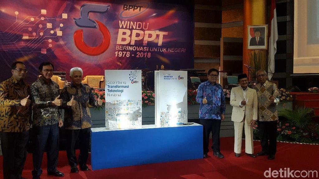 Cerita BJ Habibie tentang Awal Mula Bentuk BPPT