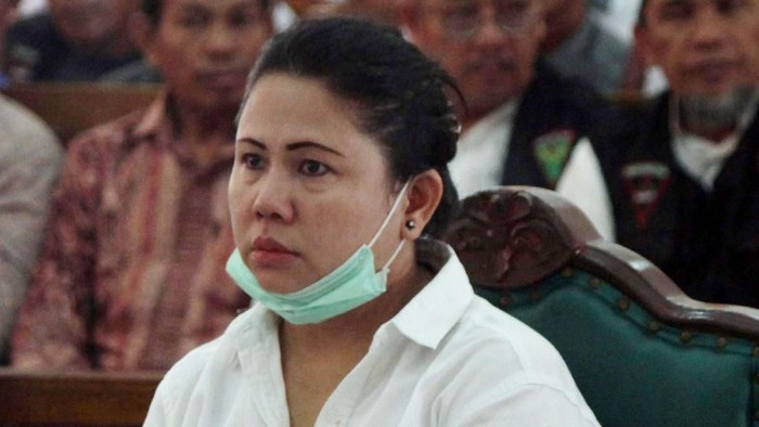 Meliana saat sidang kasus penistaan agama (Foto: ANTARA FOTO/Septianda Perdana)