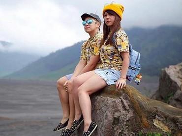 Pasangan ini udah cocok jadi model majalah belum, Bun? (Foto: Instagram/ @marcusfernaldig)