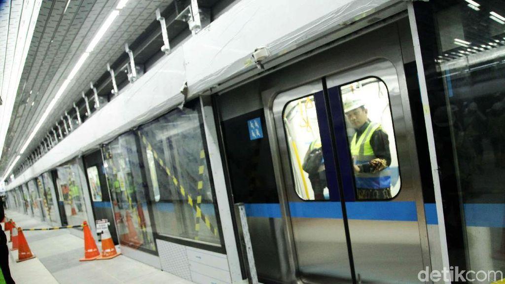 Groundbreaking MRT Bundaran HI-Kampung Bandan Molor ke Januari 2019