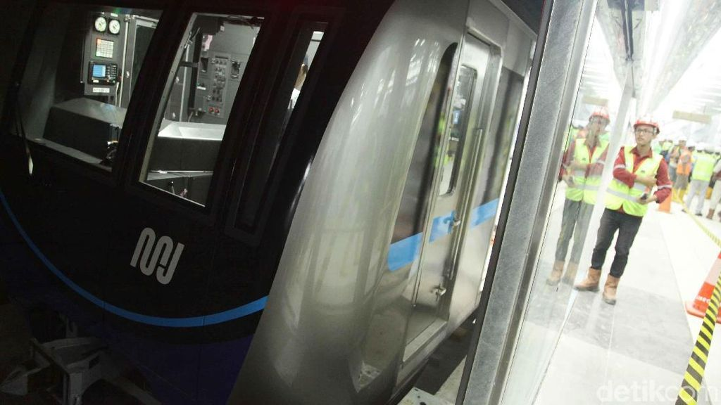 Laju MRT Jakarta Bakal Lebih Lambat di Jalur Bawah Tanah