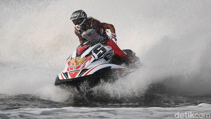 Olahraga jetski ingin lebih dikenal di Indonesia (Agung Pambudhy/detikSport)