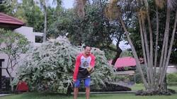 Kapten tim nasional basket putra, Arki Dikania Wisnu yang ditunjuk sebagai pembaca janji atlet di pembukaan Asian Games punya tubuh bugar banget! Ini buktinya.