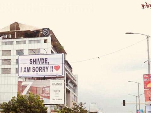 Cara Kreatif Pria Ini Meminta Maaf pada Pacarnya Jadi Viral