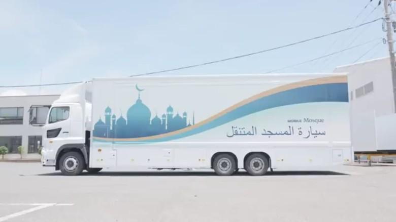Mobil masjid. Foto: Yasu Project