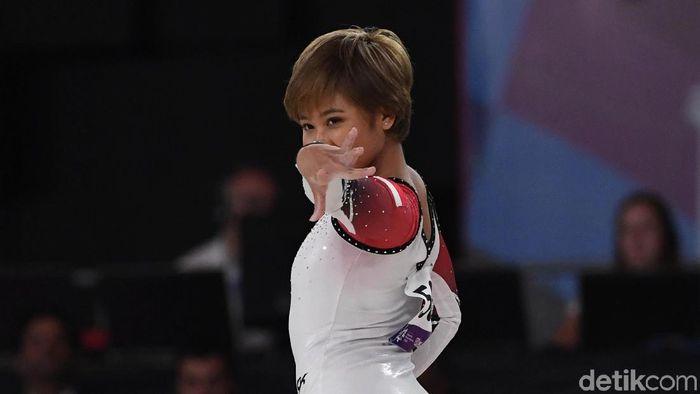 Rifda menjadi salah satu penyumbang medali buat Indonesia di Asian Games 2018 (Foto: Agung Pambudhy/detikSport)