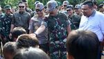 Panglima TNI dan Kapolri Tinjau Pengungsi Gempa Lombok