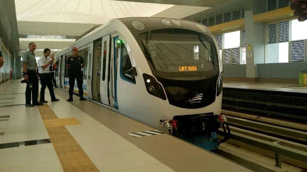 LRT Palembang Tidak Lagi Beroperasi Sampai Pukul 22.00 WIB