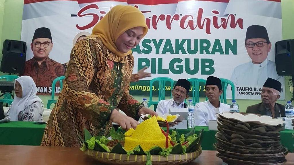 Putus Dari Sudirman Said, Ini Potret Ida Fauziyah yang Gemar Kulineran