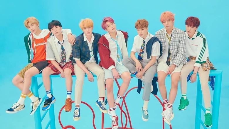 Jadi Cover Story Majalah TIME, BTS Disebut Next Generation Leaders