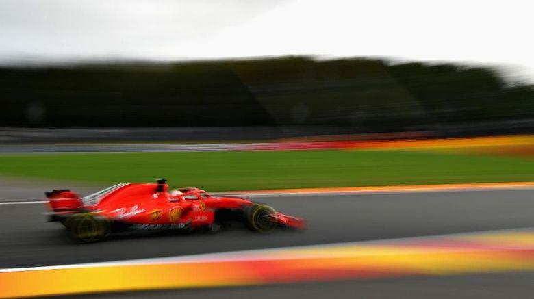 Free Practice I GP Belgia: Vettel Tercepat
