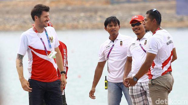 Ada Pelatih Belanda di Balik Sukses Tim Dayung Indonesia Raih Emas