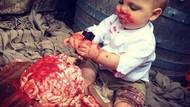 Seram! Wanita Ini Buat Kue Persis Otak Manusia untuk Anaknya