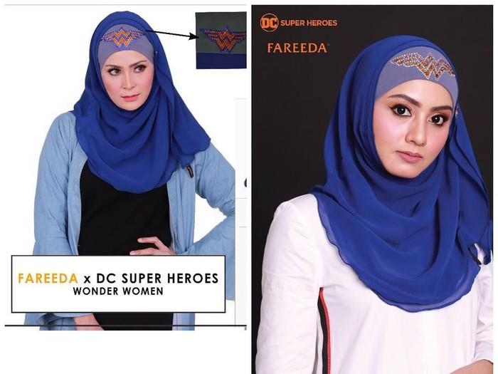 Hijab superhero dari Malaysia. Foto: Instagram/fareedagroup