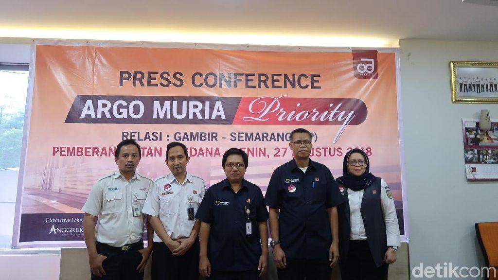 Asyik! KA Wisata Priority Jakarta-Semarang Akan Mulai Reguler