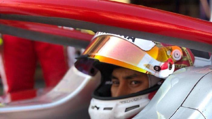 Sean Gelael akan turun di F2 Belgia akhir pekan ini (dok.Sean Gelael)