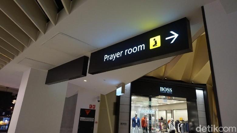 Ruang ibadah di Melbourne Tullamarine Airport (Shinta/detikTravel)