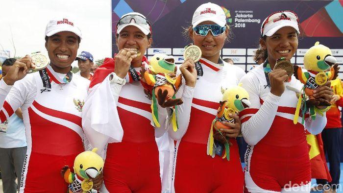 Indonesia masih bertahan di lima besar klasemen Asian Games 2018 (Foto: Rachman Haryanto)