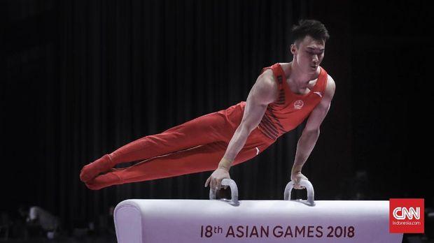 Barang-barang itu sempat digunakan di Asian Games 2018 sebelum dikembalikan lagi ke Bea Cukai.