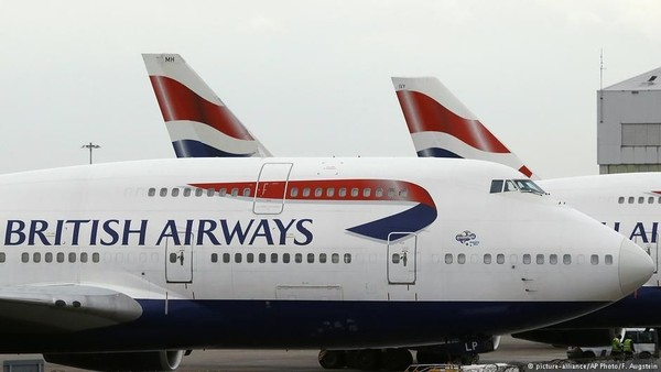 Foto: British Airways (BA) juga nyaris tak pernah kecelakaan fatal. Satu-satunya insiden yang nyaris fatal terjadi di 2008 saat pesawat mereka mengalami kegagalan mesin. Beruntung Kapten Pilot John Coward berhasil melakukan pendaratan darurat meski mesin pesawat mati. (DW (News)