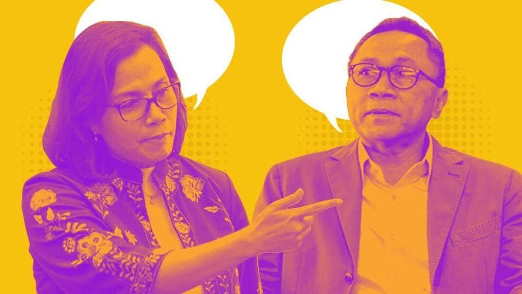 Zulkifli Hasan Balas Data Utang, Sri Mulyani Pilih Diam