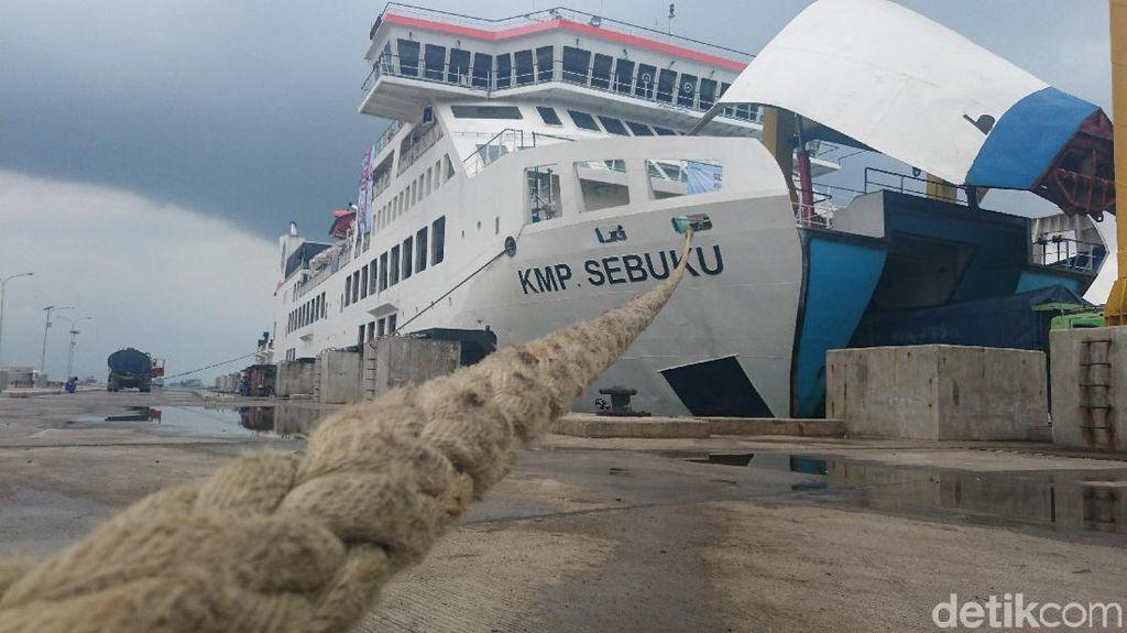 Asyik! Kapal Eksekutif di Pelabuhan Merak Segera Diuji Coba