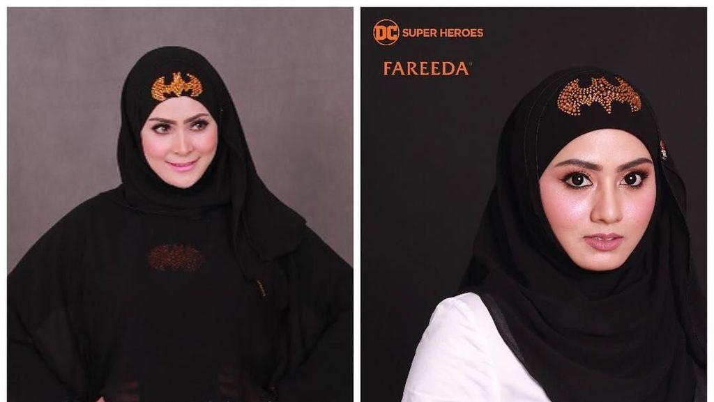 Hijab Superhero Viral di Malaysia, Batman hingga Superman