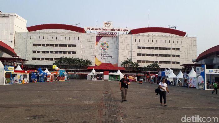 Suasana Jiexpo Saat Menggelar Asian Games  Mercy Raya Detiksport