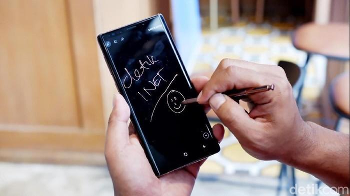 Galaxy Note 9. Foto: Adi Fida Rahman/detikINET
