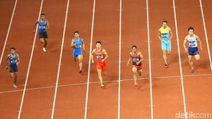 Lalu M Zohri dan Yaspi Boby Lolos Semifinal Lari 100 M Asian Games