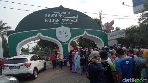 Nonton Asian Games di GBK Jangan Lupa Mampir Saudi House