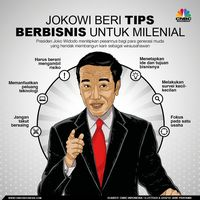Para 'Konglomerat Junior' Puja-puji Jokowi