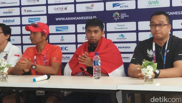 Indonesia menambah medali perak di Asian Games 2018 dari cabang menembak (Yanu Arifin/detikSport)