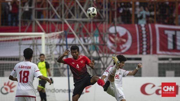 Zulfiandi (tengah) gelandang andalan Timnas Indonesia selama Asian Games 2018 Agustus lalu. (