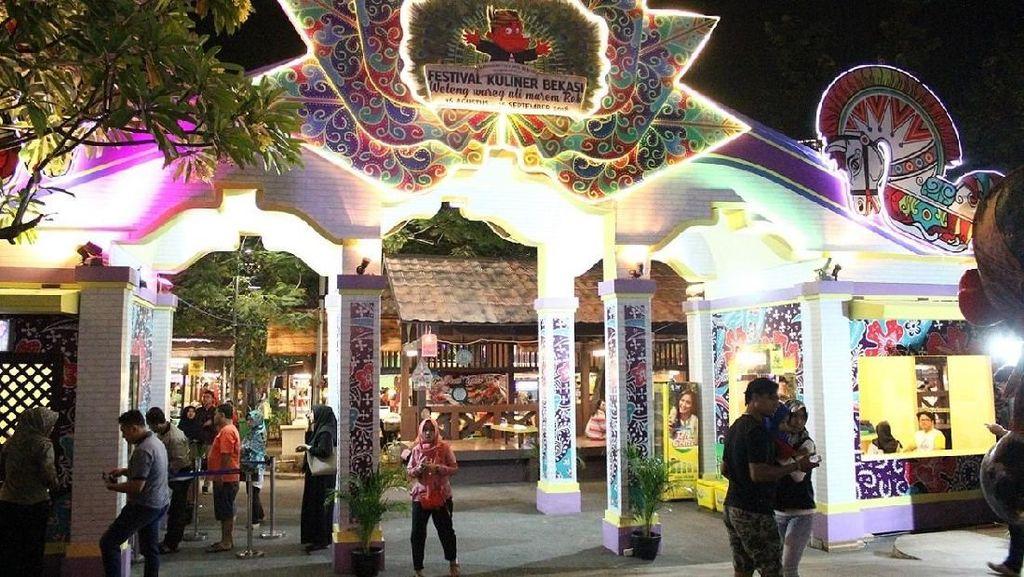 Ayo Rek! Jajan Rujak Cingur dan Cwie Mie di Festival Kuliner Bekasi