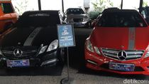 Puluhan Mobil Eropa Nongkrong di TSM Bandung