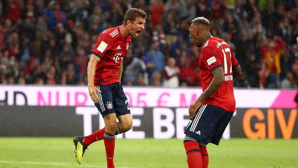 Hasil Liga Jerman: Bayern Awali Musim dengan Kemenangan