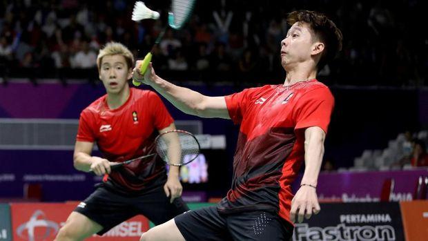 Pasangan 'Minions' Marcus/Kevin memang tampil impresif di cabang bulu tangkis Asian Games 2018. Pasangan ini meraih medali emas setelah mengalahkan sesama tim Indonesia di final.