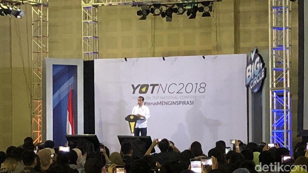 Jokowi ke Anak Muda: Ambil Peluang, Kalau Tidak Kita Ditinggal