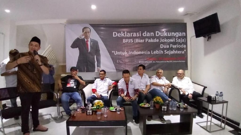 Jubir Jokowi-Maruf Sahkan Relawan BPJS