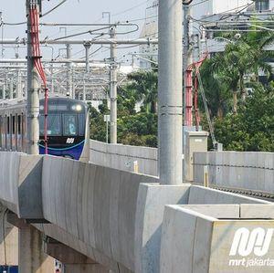 Tarif MRT Jakarta Diusulkan Rp 2.000-14.000