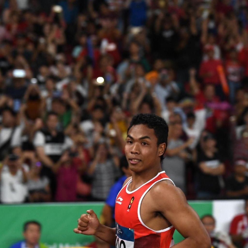 Lolos Olimpiade 2020, Zohri : Terima Kasih, Masyarakat Indonesia!