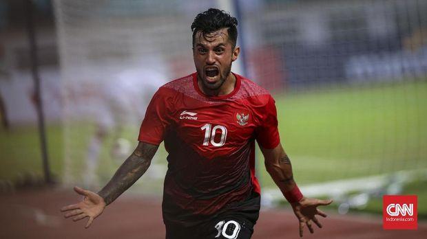 Stefano Lilipaly jadi andalan di lini depan Timnas Indonesia. (