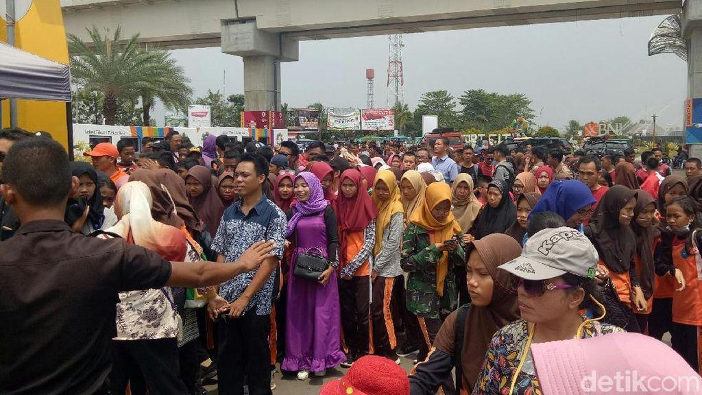 Asian Games 2018 Palembang Diserbu Penonton Pelajar